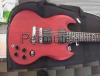 Cambio chitarra elettrica Gibson SGJ (detta diavoletto) Made in USA.
