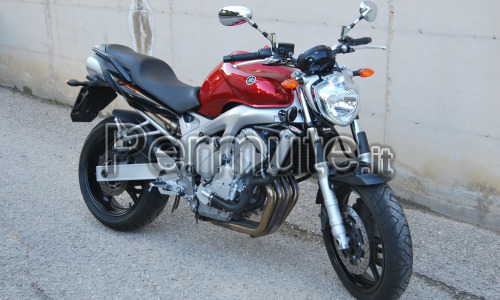 Scambio Yamaha fz6 600