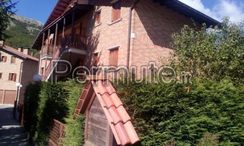 duplex a Rovere completamente arredato in stile