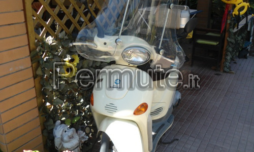scambio scooter 50 con 125
