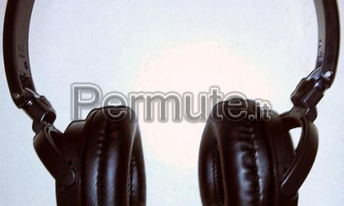 Cuffie snodabili Pioneer SE-MJ521 - colore nero/argento