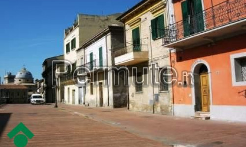 mansarda 60 mq al centro di Lanciano scambia con locale di Vasto