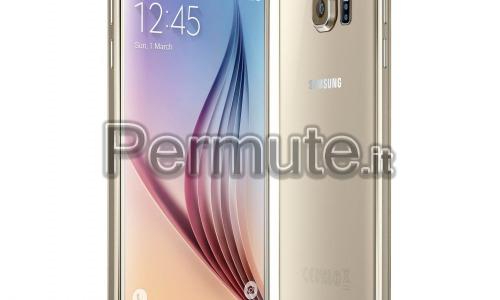 Scambio Samsung s6 32gb gold