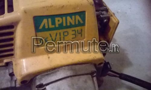 decespugliatore alpina vip 34