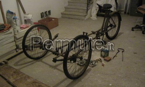 Bici Carretto detto anche Furgoncino.