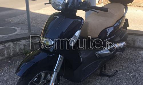Scarabeo 400ie km 13000 del 2011 antifurto sella apribile con telecomando scambio con moto